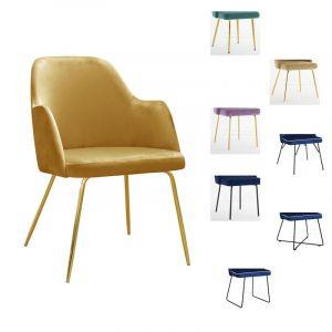 Kėdė - krėslas CAPRI M (pasirenkamos metalinės kojelės)