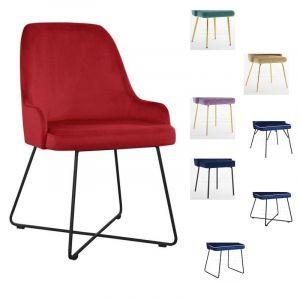 Valgomojo kėdė GRACIA M (pasirenkamos metalinės kojelės)