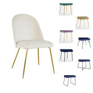 Valgomojo kėdė JULE M (pasirenkamos metalinės kojelės)