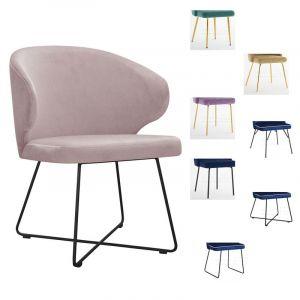 Valgomojo kėdė SAMANTA M (pasirenkamos metalinės kojelės)