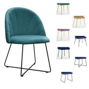 Valgomojo kėdė STRIPE M (pasirenkamos metalinės kojelės)