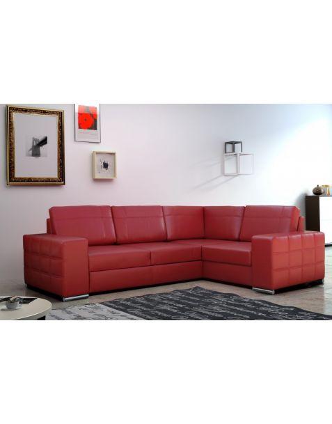 Kampinė sofa AVANT II corner 260x185 su miegojimo mechanizmu ir patalynės dėže