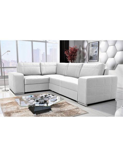 Kampinė sofa AVANT II  PK corner 260x185 su miegojimo mechanizmu ir patalynės dėže