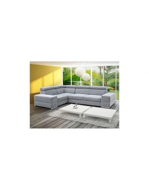 Kampinė sofa ROYAL II corner 280x210 su miegojimo mechanizmu ir patalynės dėže