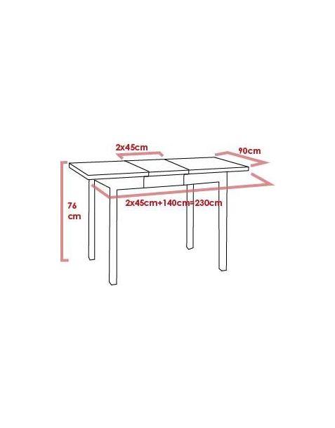 Stalas MODERN ROUND (D-90cm)