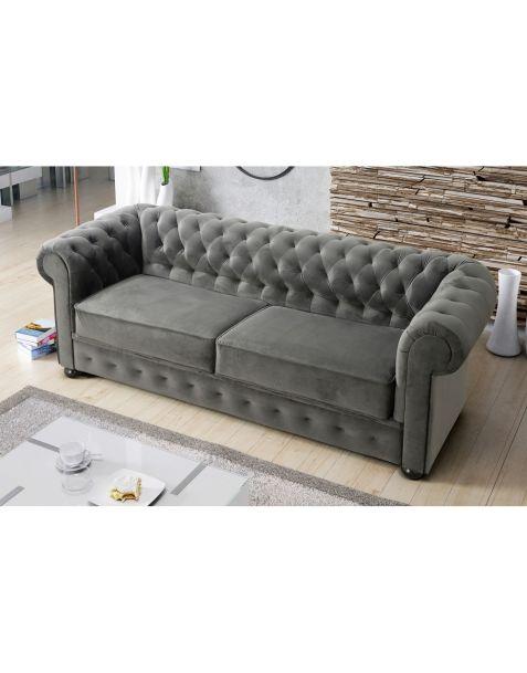 Sofa CHESTERFIELD III (218cm) galima miegojimo funkcija