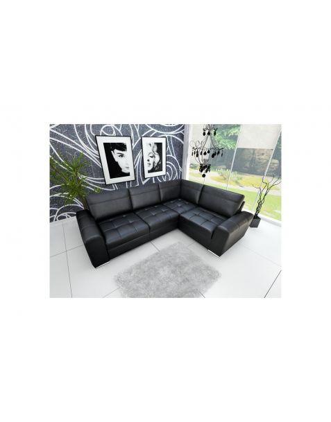 Kampinė sofa VERONA II corner 260x185 su miegojimo mechanizmu ir patalynės dėže