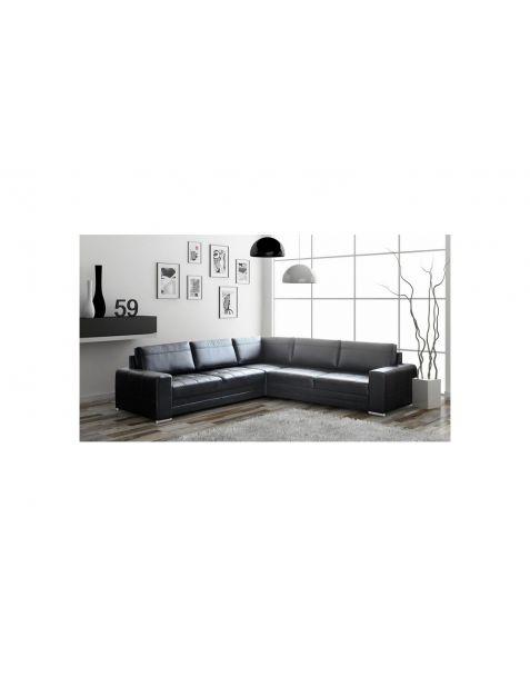 Kampinė sofa VERONA MAX corner 260x260 su miegojimo mechanizmu ir patalynės dėže