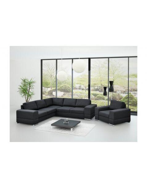 Kampinė sofa ZARA MAX corner 260x260 su miegojimo mechanizmu ir patalynės dėže
